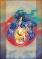 Koi Mermaid ~Happy Holidays Aiyana!~ by Dromin