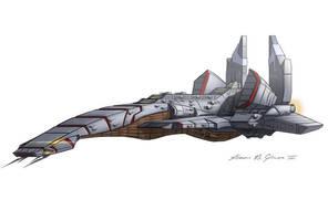 Flagship Rennaissance T-1 by daimus888