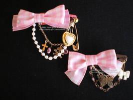 Pink Ribbon Set by Corselia