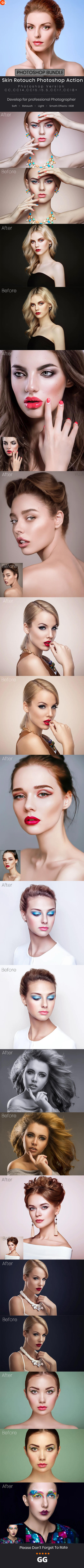 50+ Skin Retouch Photoshop Action Bundle by Kluzya on DeviantArt