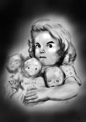 Creepy Kid by rjakobson