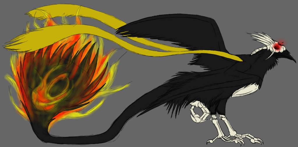 Frayed Character - 'Khu' Yatagarasu by BambooFoxFire