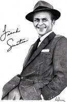 Frank Sinatra by artbyjoewinkler
