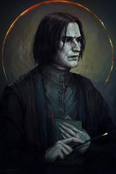 Severus Snape by LoranDeSore