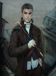 Marcus Crow by LoranDeSore