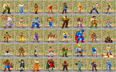 Street Fighter Zero Collection by Street-Spriter