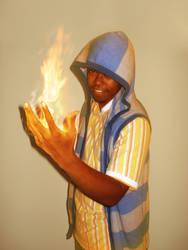 Flaming Jun by thefjk