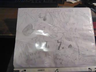 Matthew Morgan as a pony by matthew1571571570