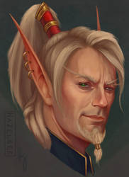 Lor'themar Theron / Jon Hamm by Hazelgee
