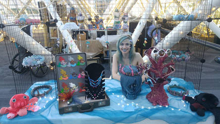Mermaid booth by Daws3