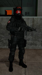 Umbrella Security Service Operative by Kommandant4298