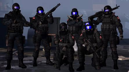 U.S.S. Gamma Team by Kommandant4298