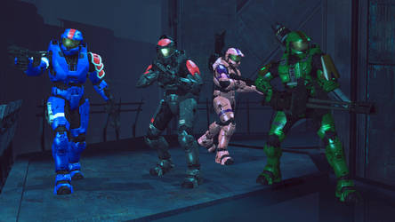 Spartan Squad Omega by Kommandant4298
