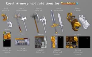 Royal Armory additions for TL2 by ArtOfArkham