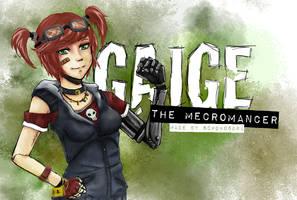 GAIGE - The Mecromancer by SchokoSora