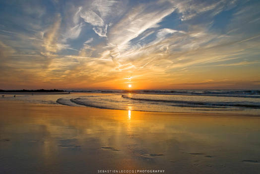 Belgium - Sunset by lux69aeterna