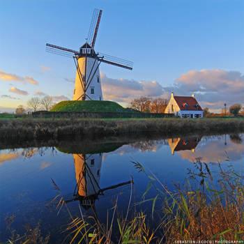 Belgium   Windmill by lux69aeterna