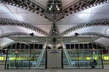 Belgium | Leuven station by lux69aeterna