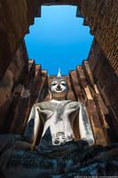 Thailand   Sukthothai Buddha by lux69aeterna