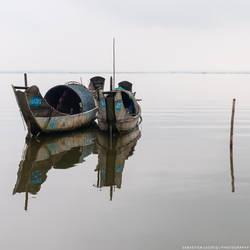 Vietnam | Sampan by lux69aeterna