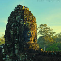 Cambodia   Bayon by lux69aeterna