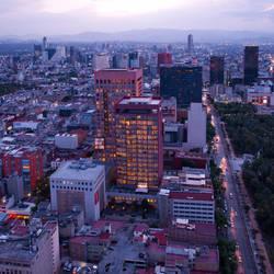 Mexico City by lux69aeterna