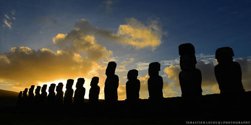 Chile | Rapa Nui by lux69aeterna