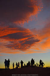 Chile - Sunset Silhouettes by lux69aeterna