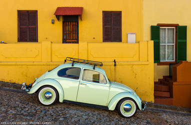 South Africa | Vintage Car by lux69aeterna