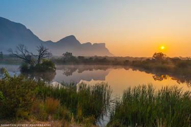 South Africa | Entabeni Sunrise by lux69aeterna