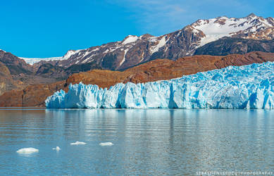 Chile   Grey Glacier by lux69aeterna