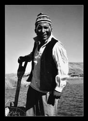 Peru | Uros native by lux69aeterna