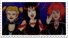 Hex Girls|Stamp by Crvyons
