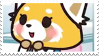 Retsuko|Stamp by Crvyons