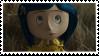 Coraline Stamp by Crvyons