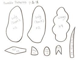 Swablu Pattern by Julika-Nagara