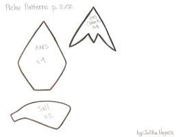 Pichu Patterns p2 by Julika-Nagara