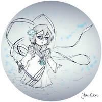 Rukia kawaii bankai by Youlien