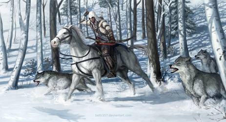 Assassin's Creed 3 - Connor by betti357