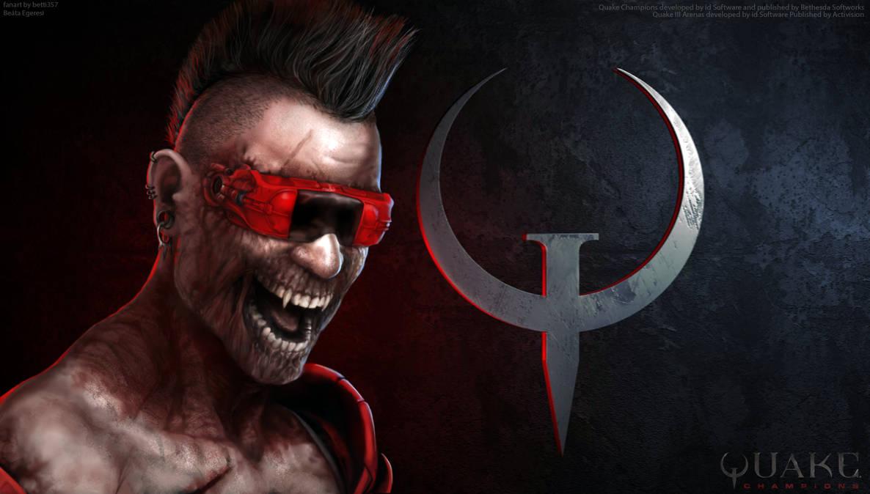 Quake Champions - Anarki by betti357