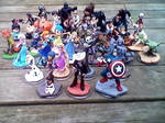 My Disney Infinity Figure Collection (What's Left) by TDGirlsFanForever