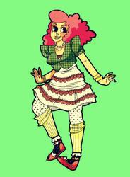 Pinkie Pie by kicksatanout
