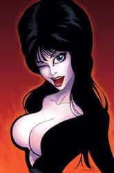 Elvira Mistress of the Dark by DennisBudd