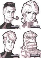 Fantastic Four by DennisBudd