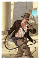 Indiana Jones by DennisBudd