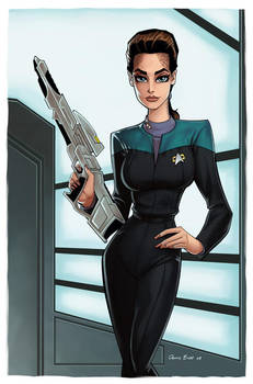 Jadzia Dax by DennisBudd