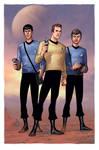 Star Trek- TOS Away Team by DennisBudd