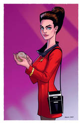 Jadzia Dax 3 by DennisBudd