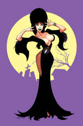 Elvira Mistress of the Dark 2 by DennisBudd