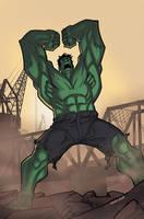 Hulk by DennisBudd